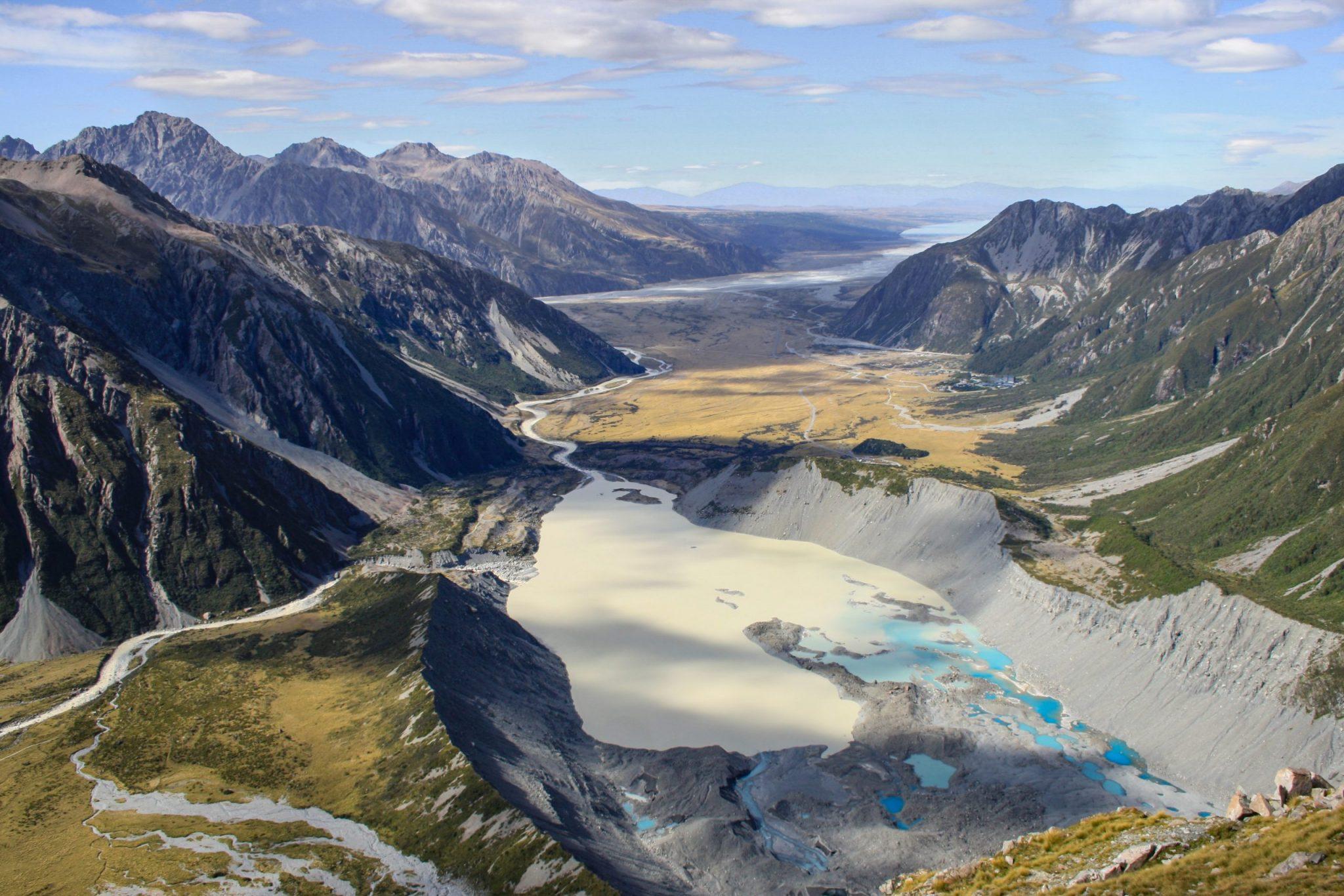 Cestování po Zélandu za nej národními parky