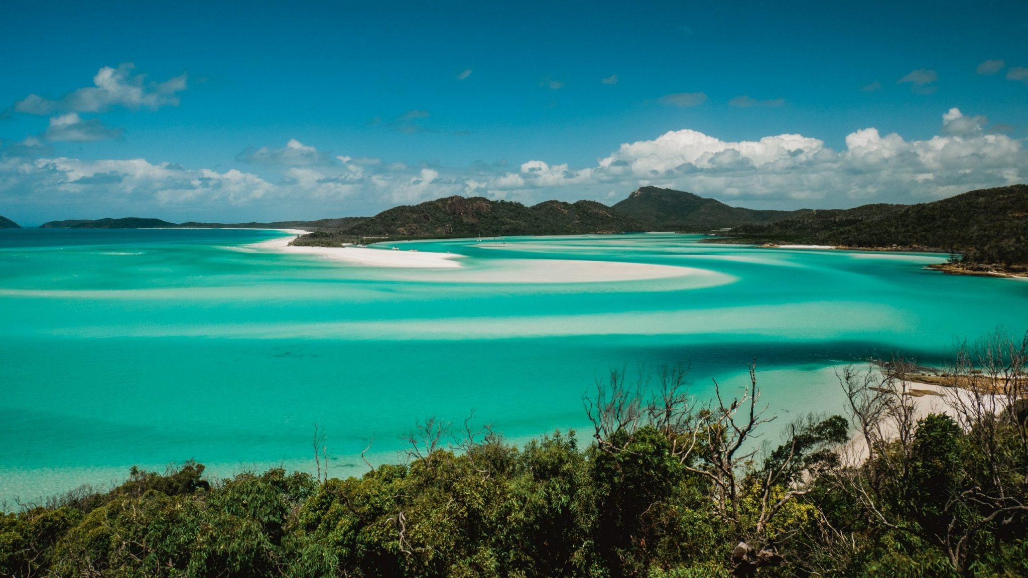 ostrovy Whitsundays