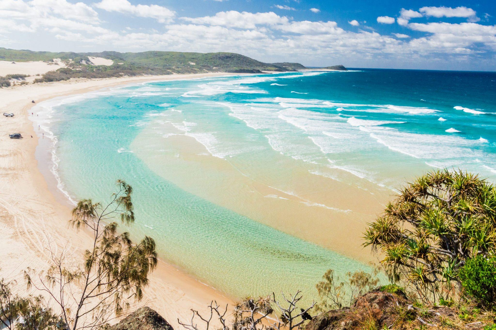 Beach of Fraser Island II