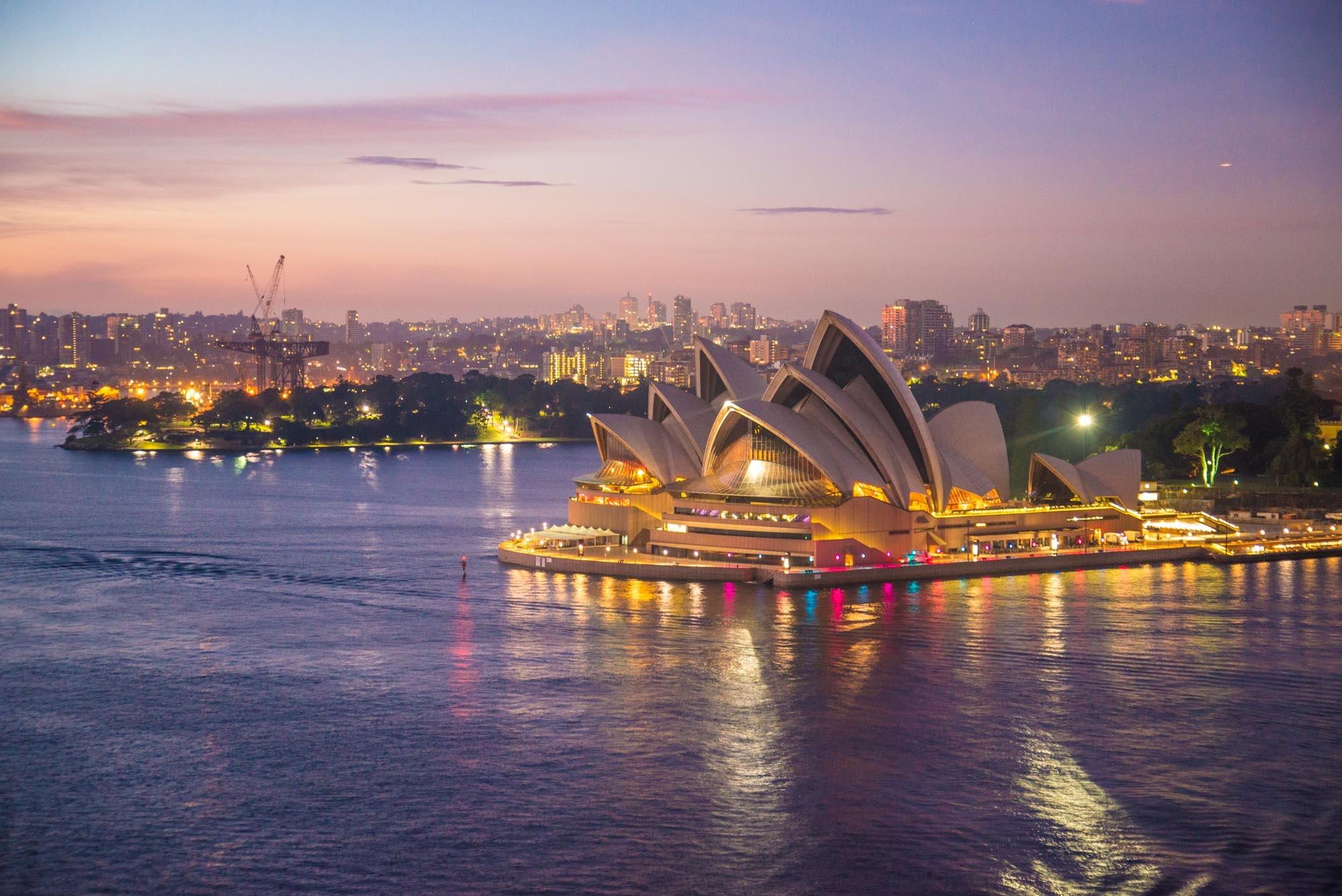 Sydney a okolí